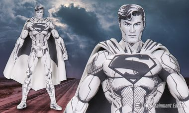 Straight from Jim Lee's Sketchbook Comes the New Blueline Superman Action Figure