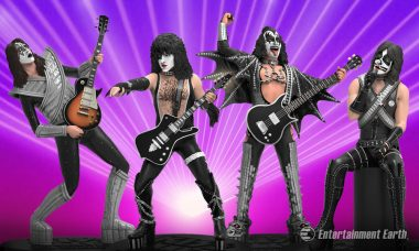 The Party's Just Begun with Knucklebonz KISS Rock Iconz Statues
