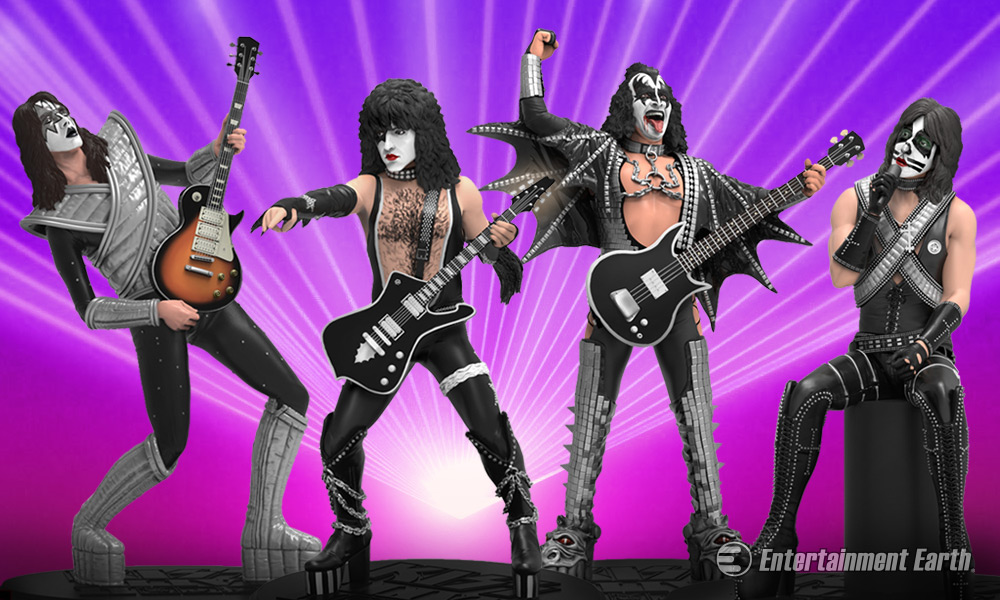 Knucklebonz KISS Rock Iconz Statues