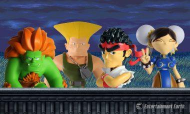 Street Fighter's Finest Get Made Over As Detailed Designer Mini-Figures
