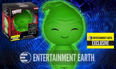 Nightmare Before Christmas Exclusive Glow-in-the-Dark Dorbz Is Singing the Boogie Song