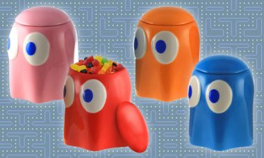 "You'll Go ""Waka Waka"" Over These Cute Ceramic Ghosts!"