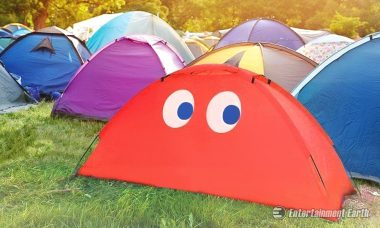 Paladone Products Brings New Excitement to Camping with This Pac-Man Ghost Tent
