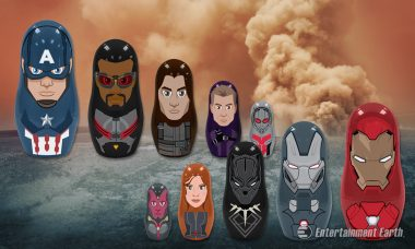 Build Your Team with Captain America: Civil War Nesting Dolls