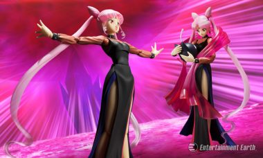 The Malicious Black Lady Joins the Sailor Senshi as SH Figuarts Action Figure