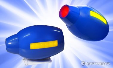 Feel the Power When You Don the Mega Man Buster Gun Replica