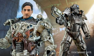 Fallout 4's T-45 Power Armor Action Figure Protects You in the Boston Wasteland