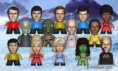 No Mission of Exploration Is Complete Without This Star Trek Mini-Figure Set