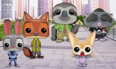 These Mammals Are the Hottest Pop! Vinyl Figures in Zootopia