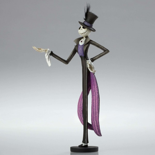 The Master Of Fright And His Lady Delight Are Dapper Statues