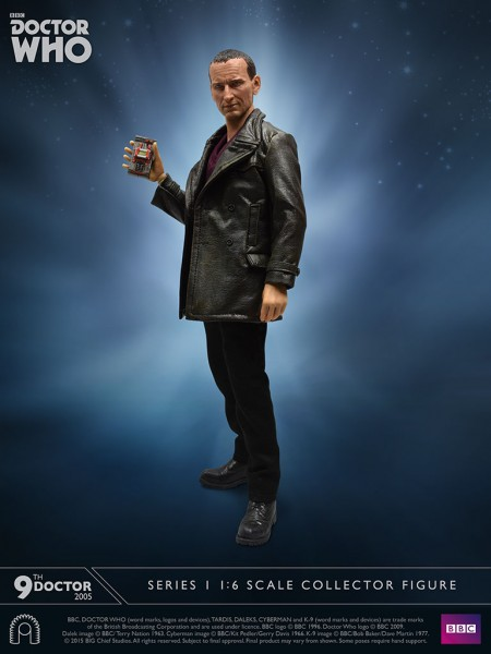 Doctor Who 9th Doctor Figure
