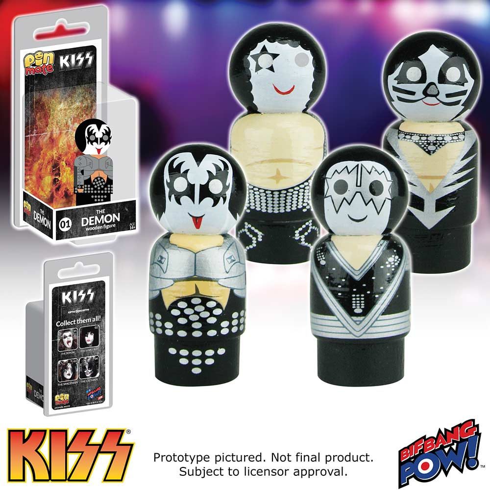 Kiss Toys Action Figures Collectibles Pin Mates