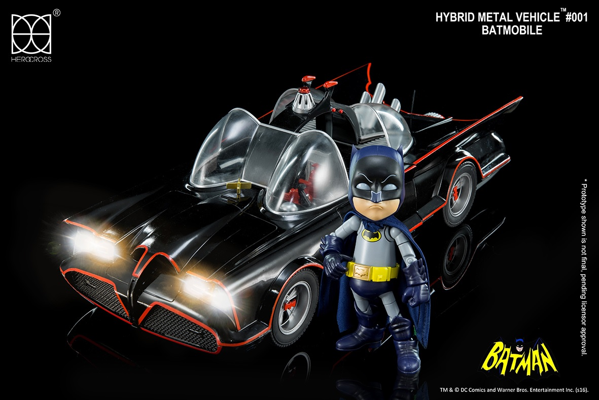 This Classic Batmobile Bumps With Bluetooth Speakers And