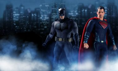 Batman and Superman Face Off in One:12 Collective Line from Mezco