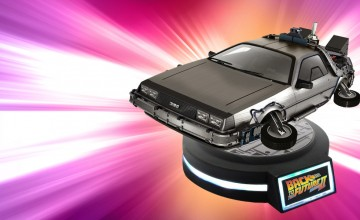 Back to the Future Pt. II DeLorean Magnetic Floating Vehicle