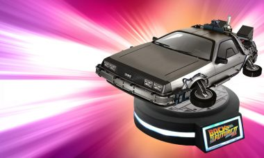 Great Scott! Floating DeLorean Time Machine Needs No Roads