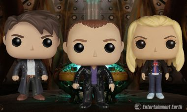 Collect Team TARDIS with Doctor Who Season 1 Pop! Vinyl Figures