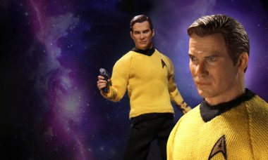 Make a Note in Your Captain's Log About This Sweet New Kirk Action Figure