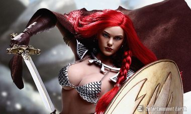 Slay Your Display with Executive Replicas' Red Sonja 1:6 Scale Action Figure