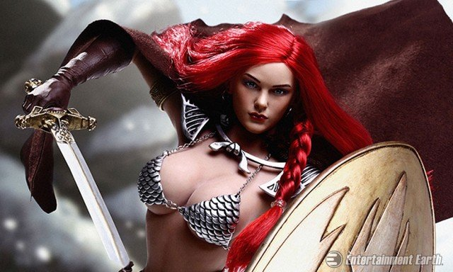 Red Sonja 1:6 Scale Action Figure