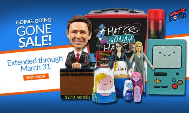 Going, Going, Gone Sale: Save 40% on Celebrated Collectibles