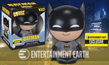 Batman Animatedly Swings in As Exclusive Dorbz Vinyl Figure