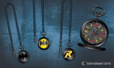 These Batman Pocket Watches Are a Must for Any Utility Belt