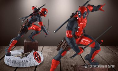 Never Miss a Chimichanga Run with The Deadpool Finders Keyper Statue