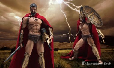 This King of Sparta Action Figure Will Inspire You to Take a Stand