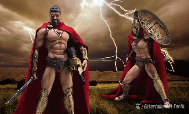 Kids Toys Action Figure: This King Of Sparta Action Figure Will Inspire You To Take