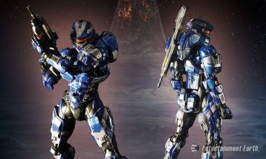 Show Your Support for the Boys in Blue (and Silver) with This Halo Spartan Action Figure