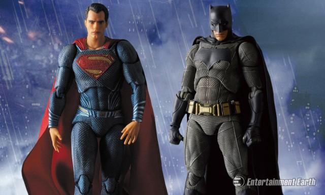 Batman v Superman MAF EX Figures