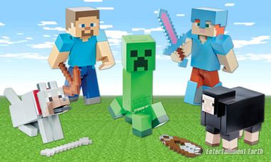Skeletons, Creepers, Sheep – and Steve! These Minecraft Series Have 'Em All