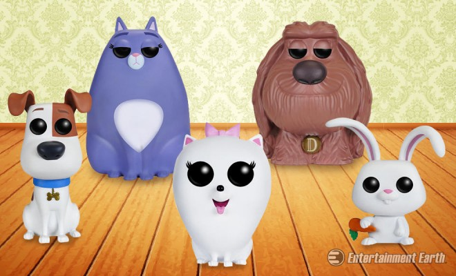 With Funko Pop Vinyl Figures Find Out What Your Pets Do