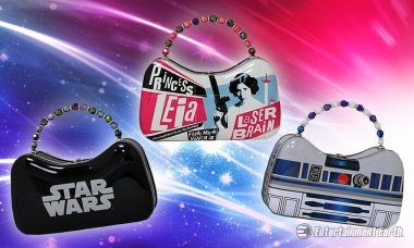 Step Out in Style with This Star Wars Tin Scoop Purse Set