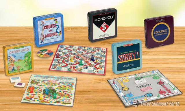 Nostalgia Tin Games