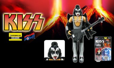Bloody Awesome! Limited Edition KISS Love Gun The Demon Action Figure Now in Stock