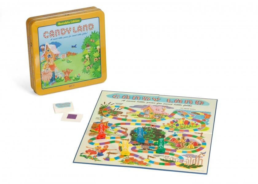 Candy Land Tin Game