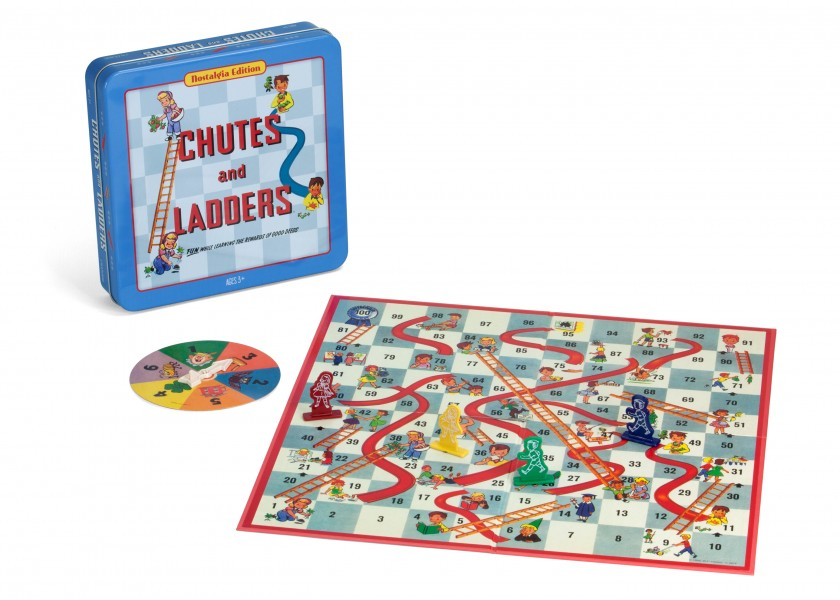 Chutes and Ladders Tin Game