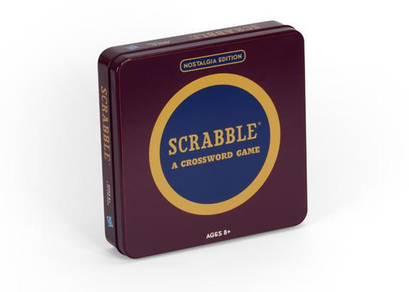 Scrabble Tin Game
