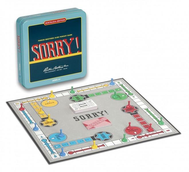 Sorry Tin Game