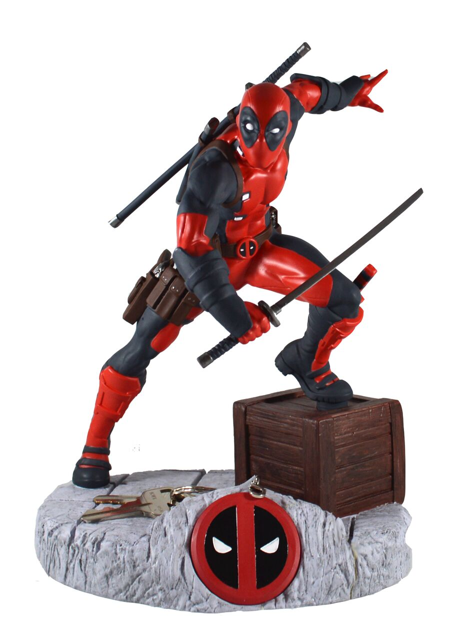 Deadpool Finders Keyper Statue