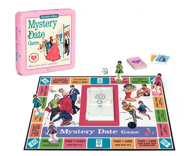 Mystery Date Tin Game