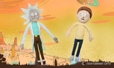 Alter Your Own Reality with These Rick and Morty 12 and 10-Inch Plush
