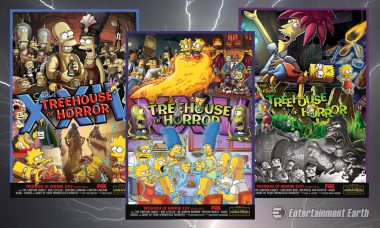 """Make Your Art Collection Truly """"Horrific"""" with These Simpsons Prints"""