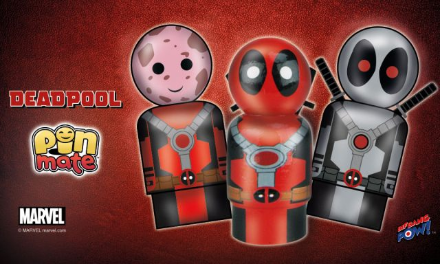 Deadpool Pin Mates
