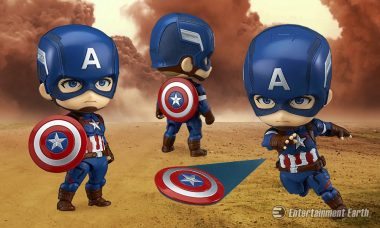 Nendoroid Captain America Is the Captain of Cute