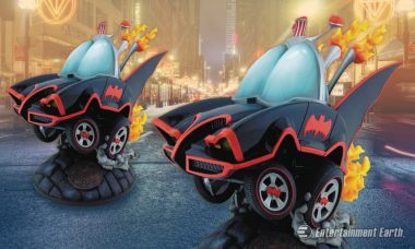 The Batmobile 1966 Stylized Statue Is Toon-Town Ready