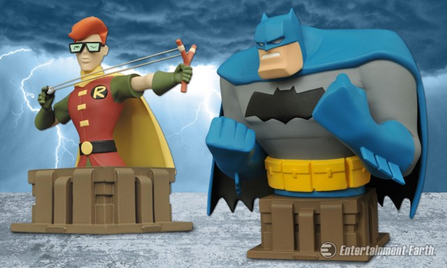 New Batman Adventure Busts
