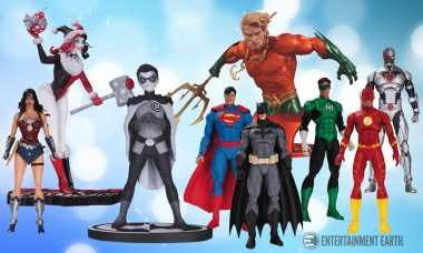 DC Collectibles' July 2016 Solicitations Include the Holidays, Damian Wayne, and More